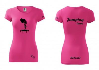 jumping ruzove damske